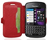 Cadorabo – Ultra Slim Book Hülle für > Blackberry Q10 <