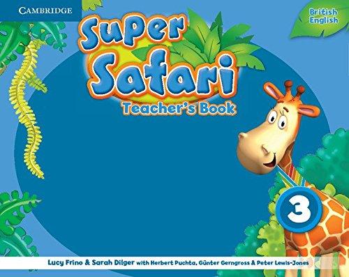 Super Safari Level 3 Teacher's Book (Super Minds)
