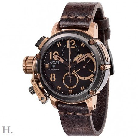 U-Boat QUIMERA Chrono 43 Black & Bronze Limited Edition