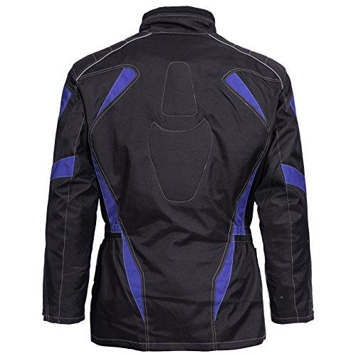 Motorradjacke Cordura Textil Roller Quad Biker Touring Schwarz Blau Gr. M L XL XXL 3XL 4XL Neu Limitless (XXL) - 2