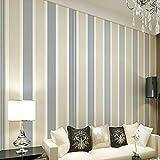 ketian moderno minimalista Vertical rayas papel para salón o dormitorio TV fondo rollo de papel pintado para la pared beige 0.53m x 10m=5.3m2