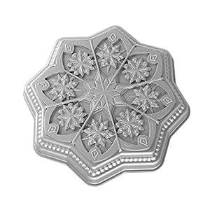 Nordic Ware - Backform Schneeflocke - Aluminiumguss