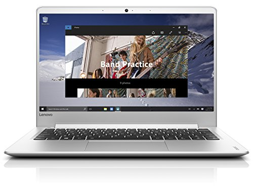 "Lenovo Ideapad 710S-13 Portátil, EYE-CATCHING 13.3"" Alta Velocidad, Full HD (Intel I3-7100U, 4 GB de RAM, Windows 10), plata - teclado QWERTY Español"