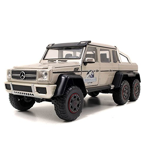 Jada Toys - 97080 - Mercedes-benz - G63 6x6 Amg - Jurassic World 2015 - Échelle 1/24