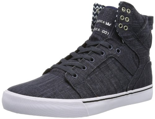 Supra SKYTOP S18217, Sneaker Unisex adulto Blu (Blau (SLATE BLUE - WHITE SBW))