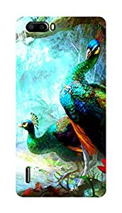 SWAG my CASE PRINTED BACK COVER FOR HUAWEI HONOR 6 PLUS Multicolor