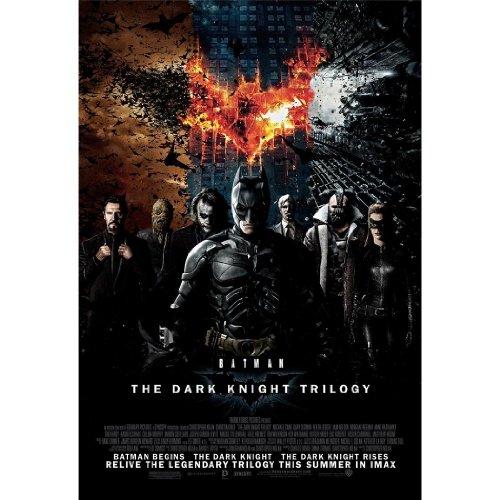 The Dark Knight Rises Batman Poster On Silk - Soie Affiche - 4304A3