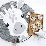 Baby Spielmatte Rainforest Erlebnisdecke Neu Hirsch Bodenmatte Kind Krabbeldecke Tier Serie Gleicher Absatz Baby Gamepad Schlafdecke Waschbar Baumwolle Stoff