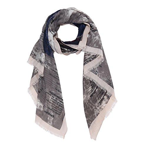 Glamexx24 XXL Lang Tuch , XXL Schal leichte Spitze Scarf ,warme und weiche Qualitaet in verschiedenen Muster