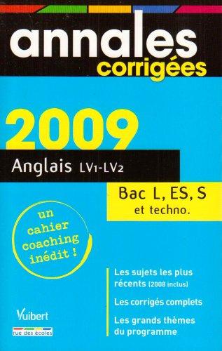 Anglais LV1-LV2 Bac L, ES, S et techno