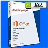 Microsoft Office 2013 Professional Plus Complete | Español | ESD (Código digital) enviada por correo electrónico | licencia perpetua