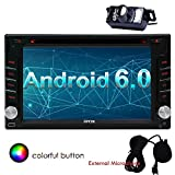 Eincar Android 6.0 Marshmallow 6.2 inch Quad Core Car Radio Stereo Double Din