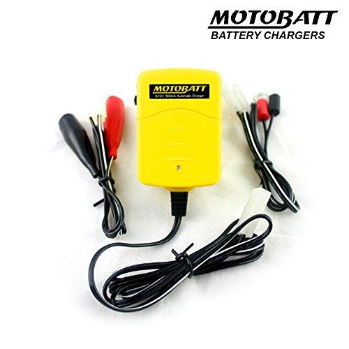 Motobatt MBCCC - Batteria per auto, 6/12 V, 500 mA