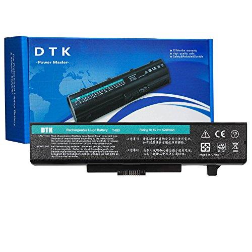 DTK ® Haute Performance Batterie de Remplacement pour Lenovo Y480 Y580 Y480A Y485 Y585 G480 G485 G580 G585 Z380 Z480 Z580 Z585 4400mah Batterie d'ordinateur Portable