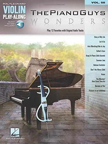 The Piano Guys - Wonders Violon +Enregistrements Online (Hal Leonard Violin Play-along)