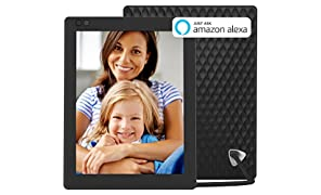 NIXPLAY Seed Digital Photo Frame WiFi 10 inch W10A. Show Photos on your frame via Mobile App or Email. Displays HD Pictures and Videos. Electronic Smart Picture Frame with Motion Sensor