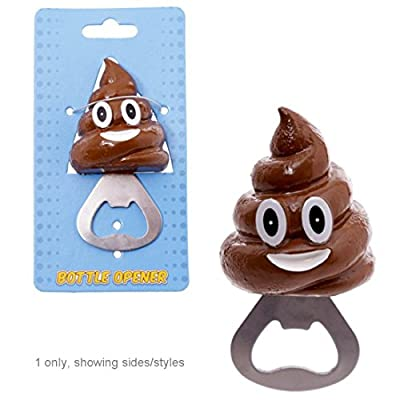 Novelty Bottle Opener Emotive Poop If You Are Looking For A Novelty Gift Thats Practical And