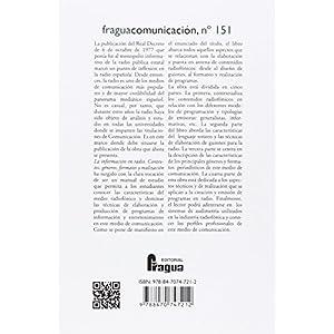 La información en radio. Contexto, géneros, formatos y realización (Fragua Comunicación)