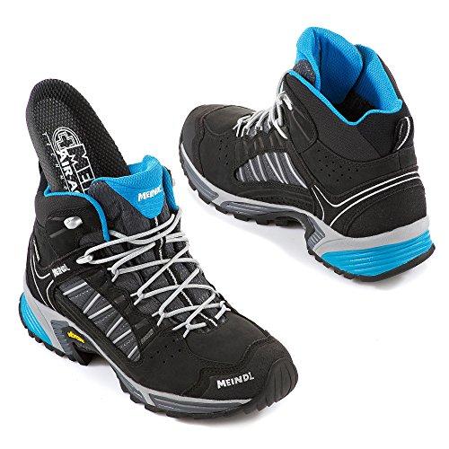 Meindl Shoes Sx 1.1 Lady Mid Gtx - Nero / Azur Nero