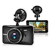"Car Dash Cam Driving Recorder Camera Night Vision 1080P Full HD Dashcams for Cars - 3.0"" Metal Shell 170 Wide Angle Dashboard DVR Camcorder Built in G-Sensor"