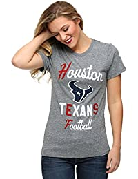 Junk Food Womens Houston Texans Touchdown Tri-Blend T-Shirt