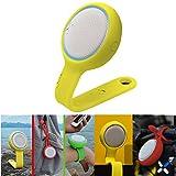 Mini tragbarer Bluetooth Lautsprecher + tragbarer Fall + hängender Bügel Fall + montierbarer Fall = IKOS Kreativer Bluetooth Sprecher, wasserdicht, für im Freien / Fahrrad / Sport,für iPhone Geschek (1 Speaker+3 Cases)