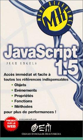 JavaScript 1.5 par Jean Engels
