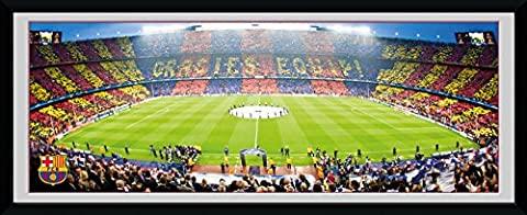 GB eye 30 x 12-inch Barcelona Nou Camp Framed Photograph, Assorted