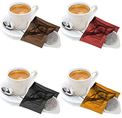 100 ESPRESSO ESE 44mm ITALIAN ROASTED COFFEE PODS PADS