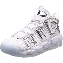 nike air more uptempo bianche e rosse