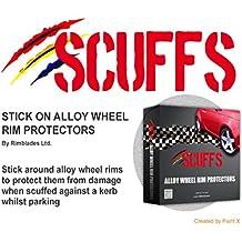 Scuffs by Rimblades - Protectores para llantas de aleación, color negro