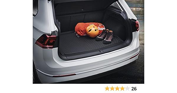 YXYNB Decorazione Bagaglio per Volkswagen Tiguan 2010-2016 2017 2018 Acciaio Inossidabile Car Rear Guard Paraurti Guard Trim Copertura Tronco Piano Vassoi Pedane Davanzali
