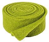 VBS Einfarbiges Filzband, ca. 5 x 250cm grün