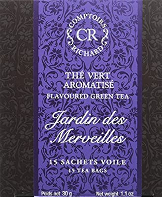 Comptoirs Richard Thé Vert Jardin des Merveilles 15 Sachets 30 g - Lot de 2