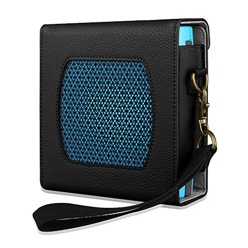Fintie Bose SoundLink Colour Case - Protettivo Custodia Cover Borsa da Viaggio con Cintura Rimovibile per Bose SoundLink Colour Diffusore Bluetooth, Nero