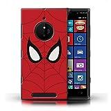 Stuff4 Phone Case for Nokia Lumia 830 Super Hero Comic Art