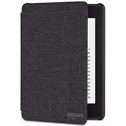 Custodia Amazon in tessuto che protegge dall'acqua per Kindle Paperwhite (10ª generazione - modello 2018), Nero antracite