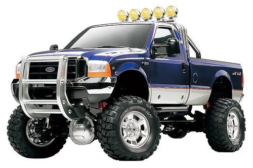 TAMIYA 300058372 - Ford F350 High Lift, 1:10, Ferngesteuerter Elektro Outdoor Truck, Bausatz