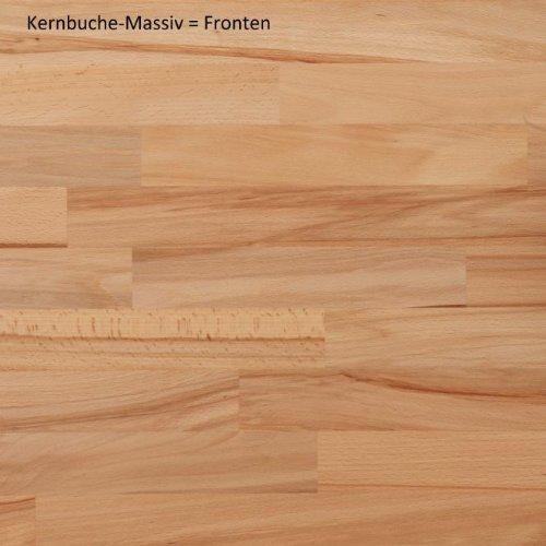 """5-5-6-1425: """"K12"""" – schöne Hochkommode – Highboard – Kernbuche – made in BRD - 2"""