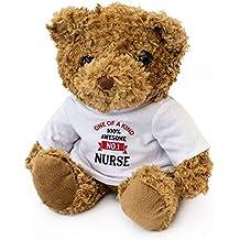 London Teddy Bears NÚMERO UNA Nurse - Oso de Peluche - Bonito y Suave Peluche -