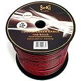Cavo per altoparlante 2X 1,5mm²–Rosso/Nero–Bobina da 100m–Cavo RCA–audio–Box cavo