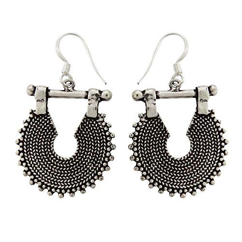 Banithani 925 Sterling Silber Baumelt Tropfen-Ohrring-Designer Modeschmuck Geschenk Für (Ohrringe Designer Modeschmuck)