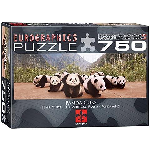 Eurographics Panda Cubs Puzzle (750 Pieces)