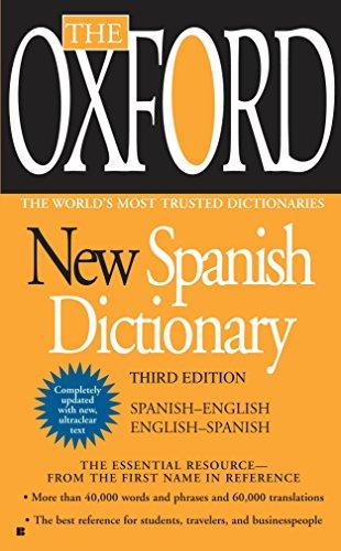 Oxford New Spanish Dictionary por Oxford University Press