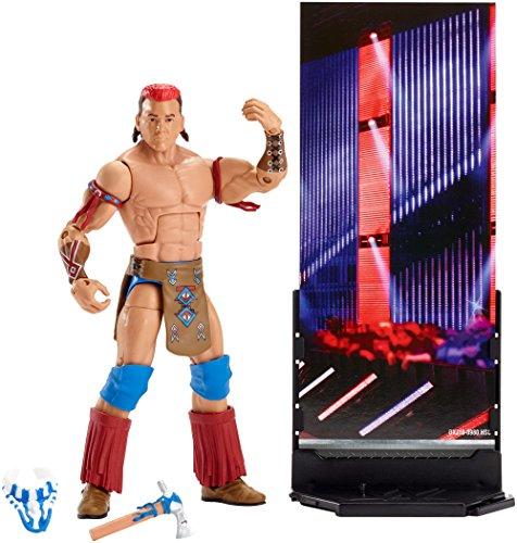 Figur WWE Tatanka Elite Serie
