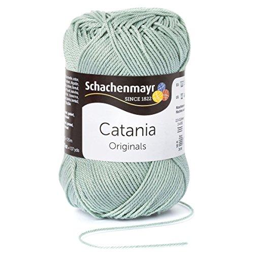 Schachenmayr Catania 9801210-00402 reseda Handstrickgarn, Häkelgarn, Baumwolle