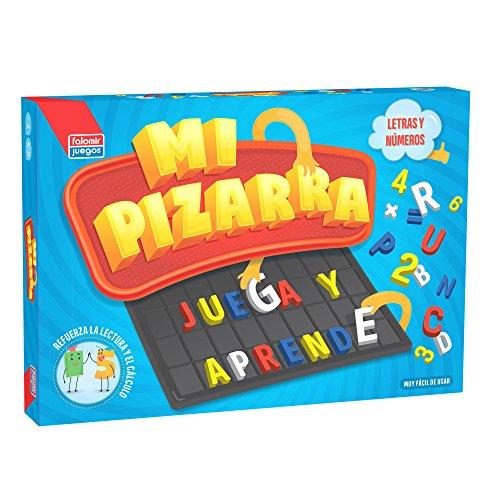 Falomir Pizarra Letras y números Color, 39 x 26 cm 24009