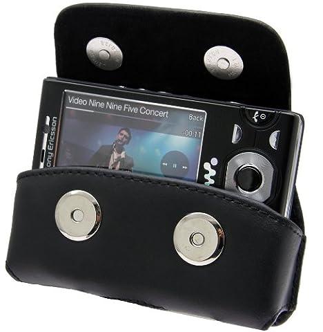 Sony Ericsson W995 - W995i - Quertasche Seitentasche Schutzhülle Tasche Hülle mit