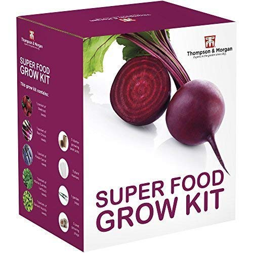 Thompson & Morgan Grow Kits Cadeau Boîtes - Super Nourriture