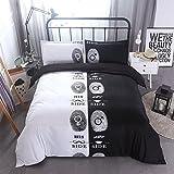 3D Druck Bett Set Bettbezug Kissenbezüge Housewarming Geschenk Dekoration 3 Teile/satz